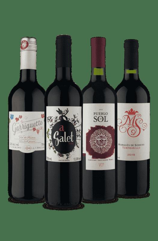 Kit Premium Tintos (4 Vinhos)