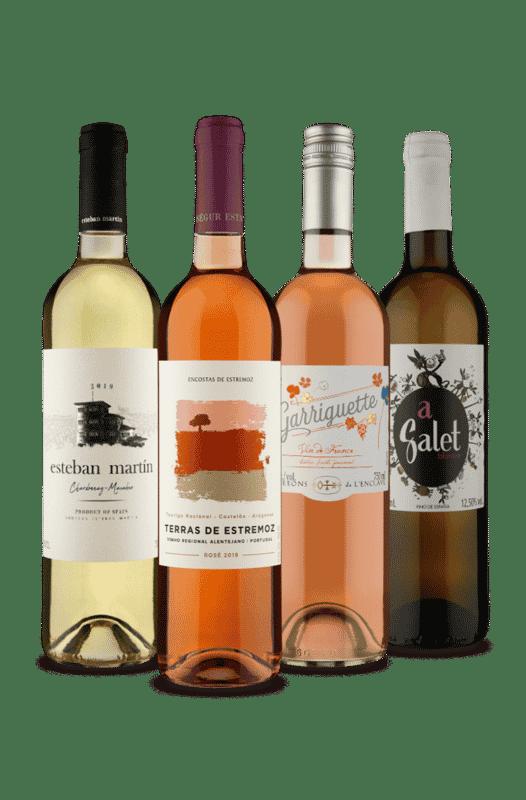Kit Premium Branco e Rosé (4 Vinhos)