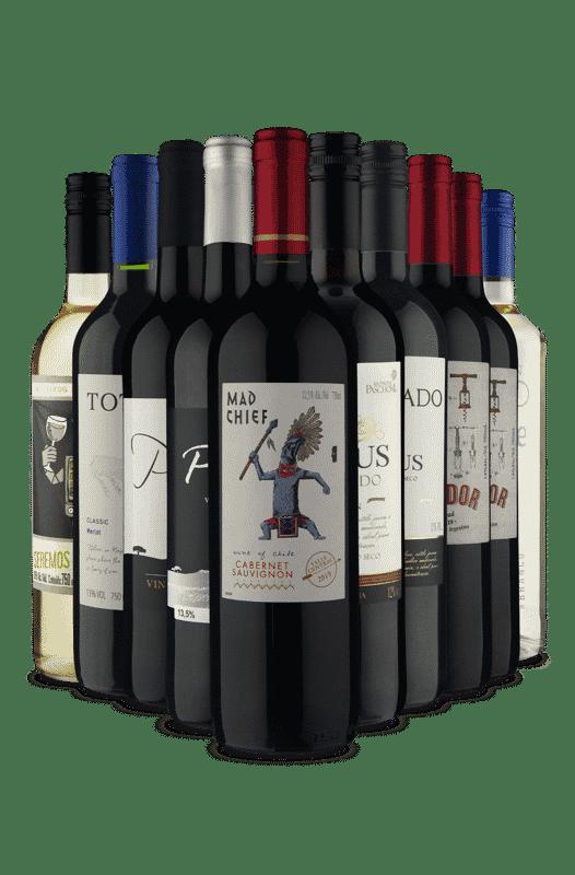 Kit Os Mais Curtidos Vinho Fácil (10 Vinhos)