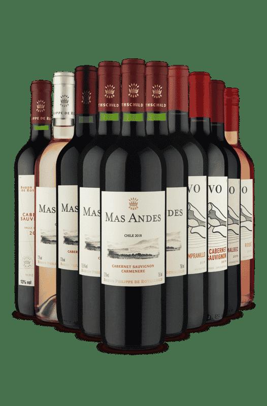 Kit Baron e Altivo (10 Vinhos)