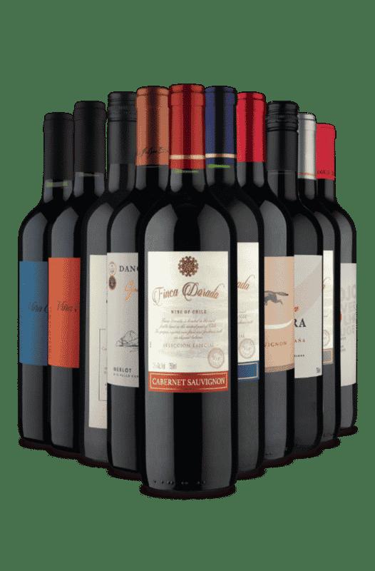 Kit Baixo Custo Alto Benefício (10 Vinhos)