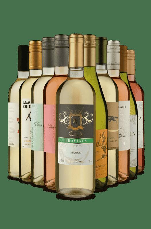 Kit Verão de Refrescantes (10 Vinhos)