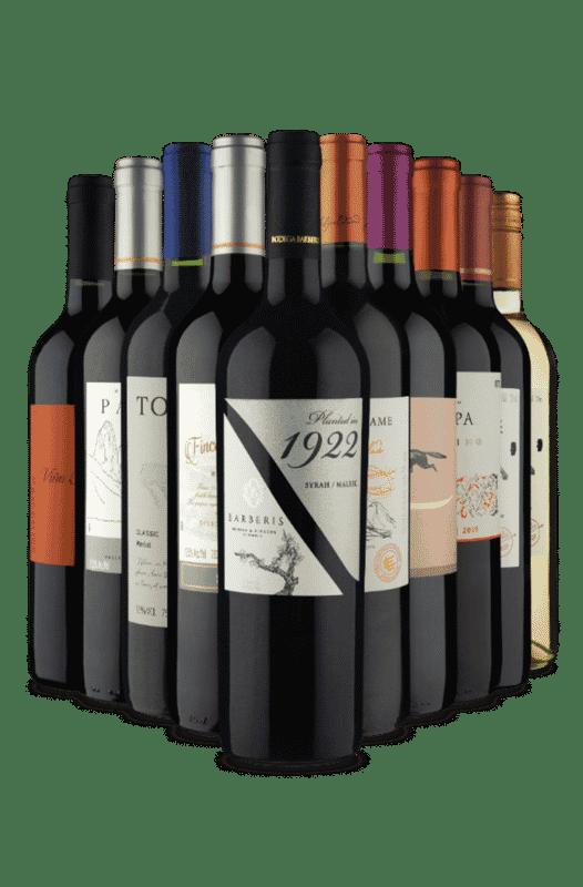 Kit Tintos Escolhidos a Dedo (10 Vinhos)