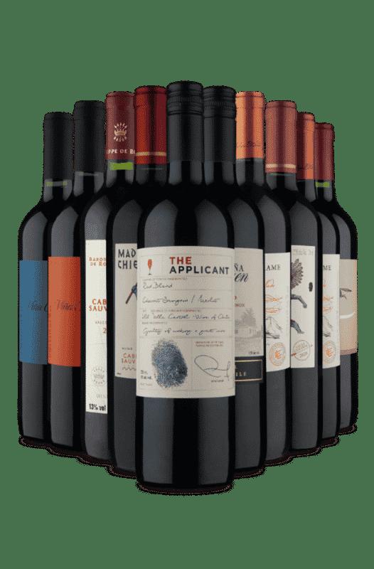 Kit Especial Tintos Chilenos (10 Vinhos)