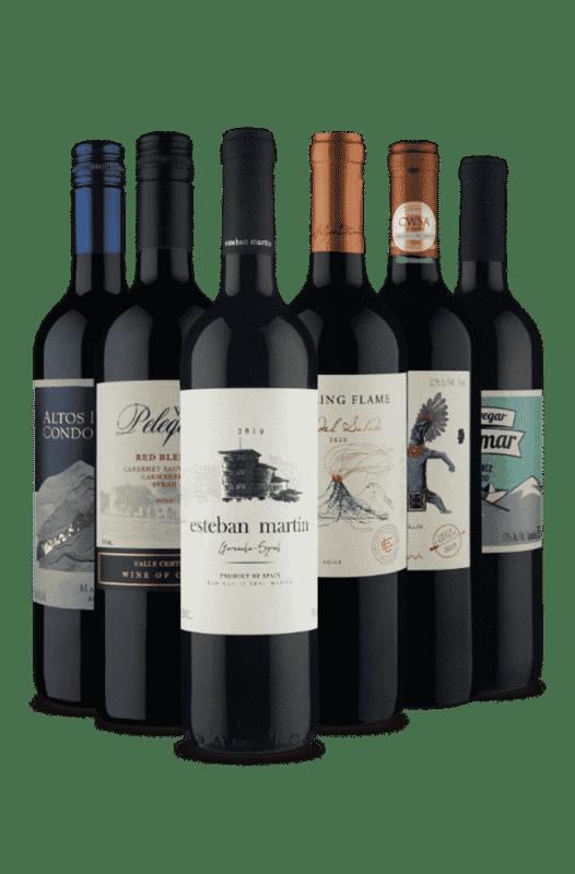 Kit Syrah e Malbec (6 Vinhos)
