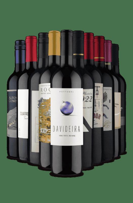 Kit Uvas Sortidas (10 Vinhos)