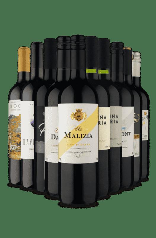 Kit Europa em Tintos (10 Vinhos)