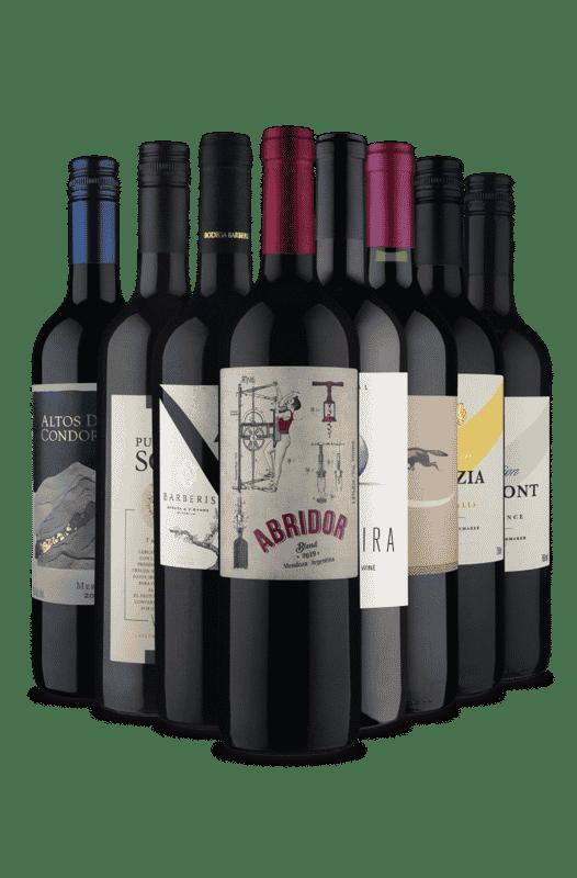 Kit Só dá Tintos (8 Vinhos)