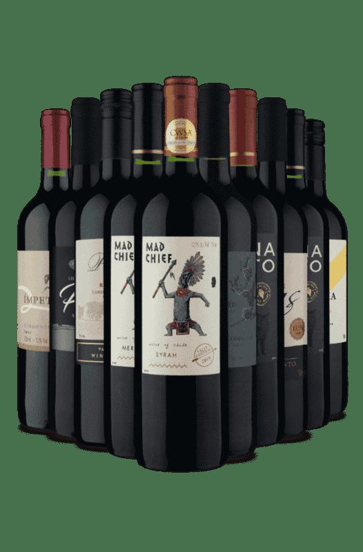 Kit Vinhos Espetaculares (10 Vinhos)