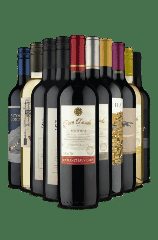 Kit As Melhores Escolhas (10 Vinhos)