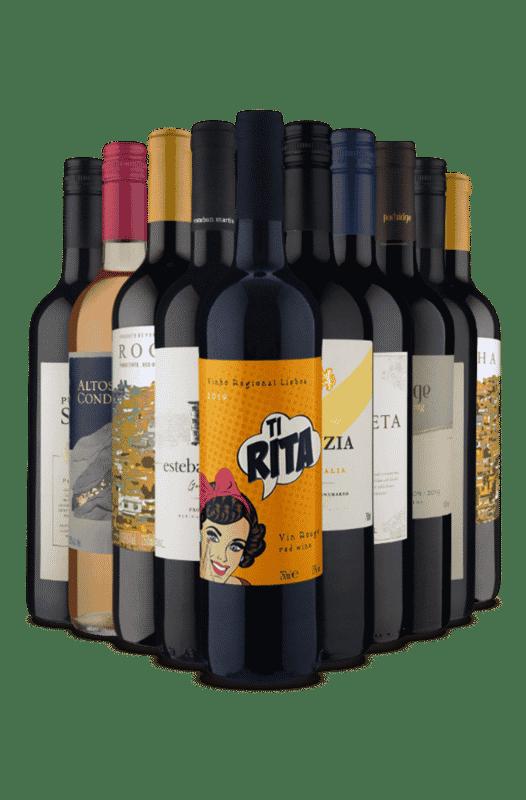 Kit Mãe Despojada (10 Vinhos)