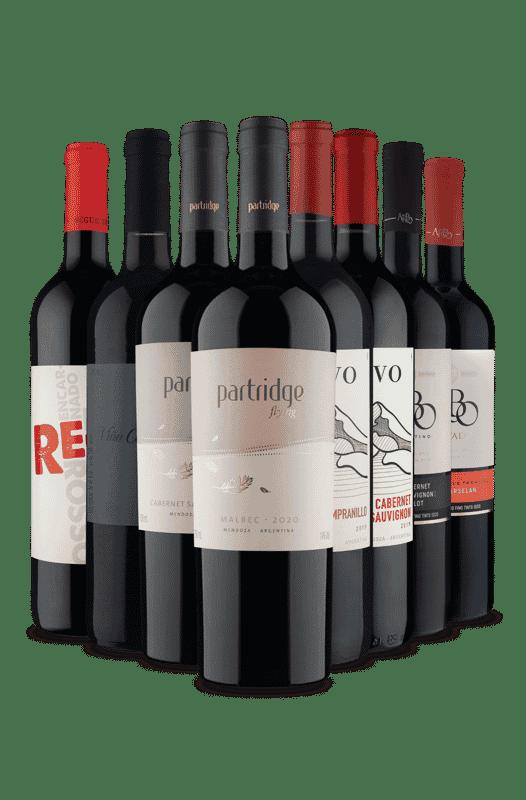 Kit Selecionados pra Você (8 Vinhos)