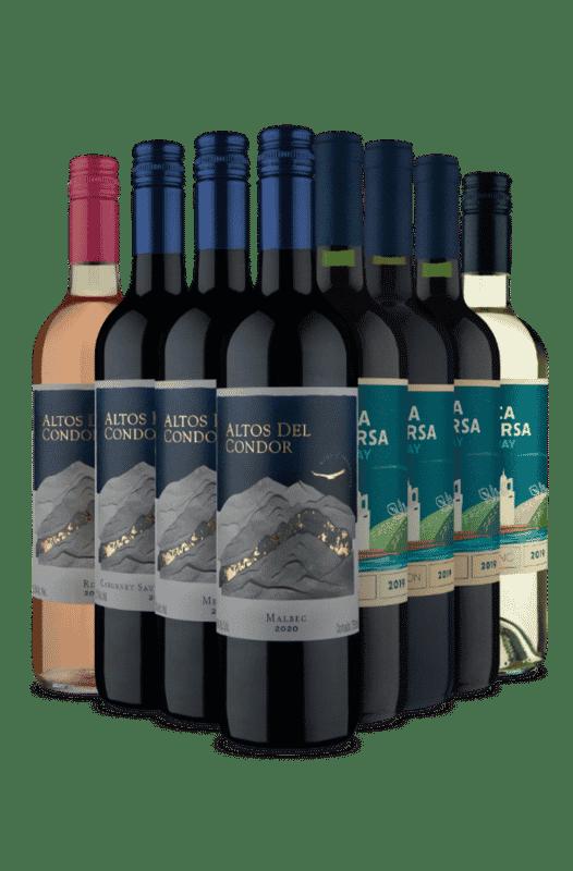 Kit Altos del Condor e Finca Traversa (8 Vinhos)