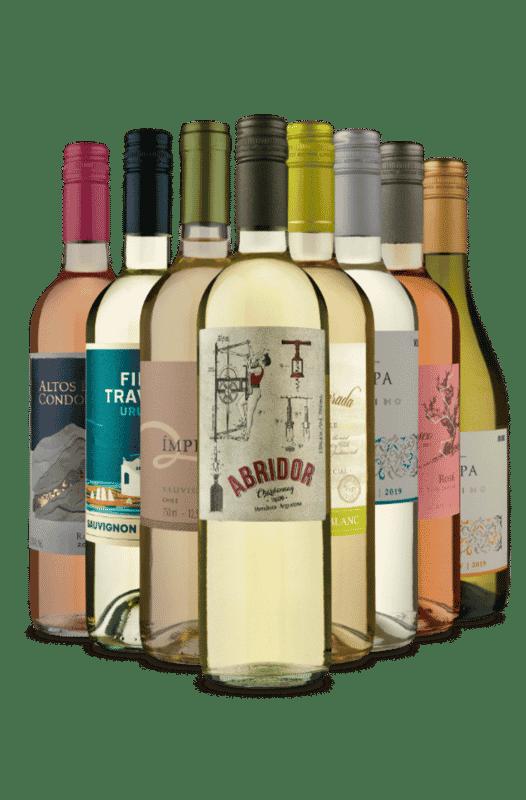 Kit Rótulos Refrescantes (8 Vinhos)