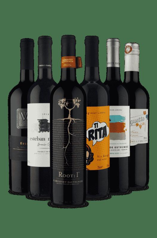 Kit Tintos para Impressionar (6 Vinhos)