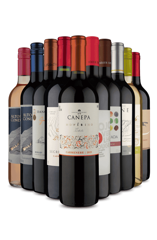 Kit Quero Vinho Fácil (10 Vinhos)