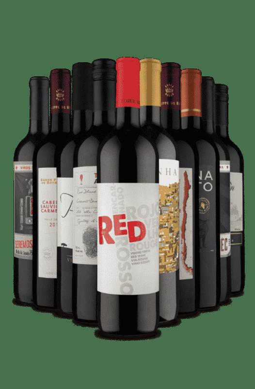 Kit Tintos de Sucesso (10 Vinhos)