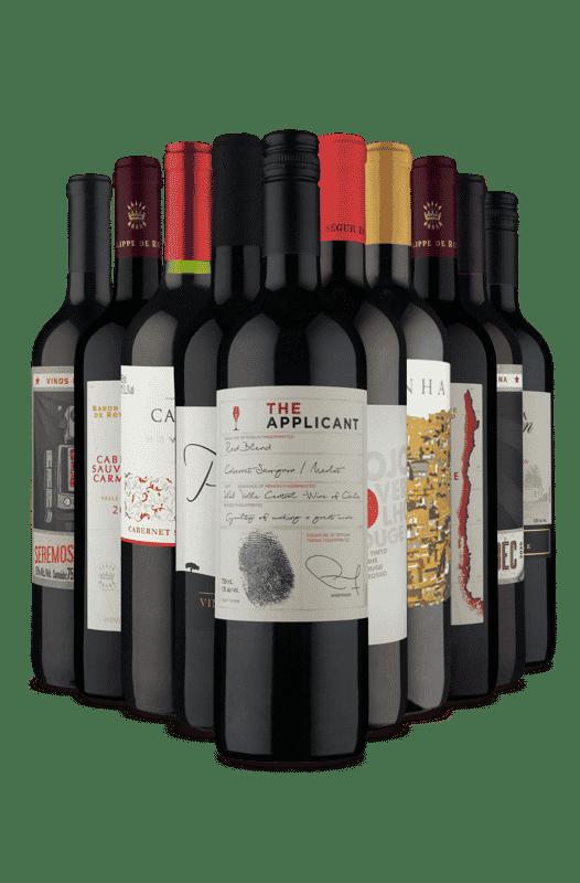 Kit Tintos Sabor e Preço Incríveis  (10 Vinhos)