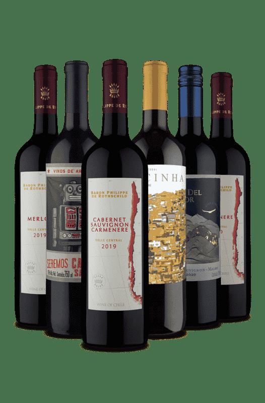 Kit Sexteto Blend de Tintos (6 Vinhos)
