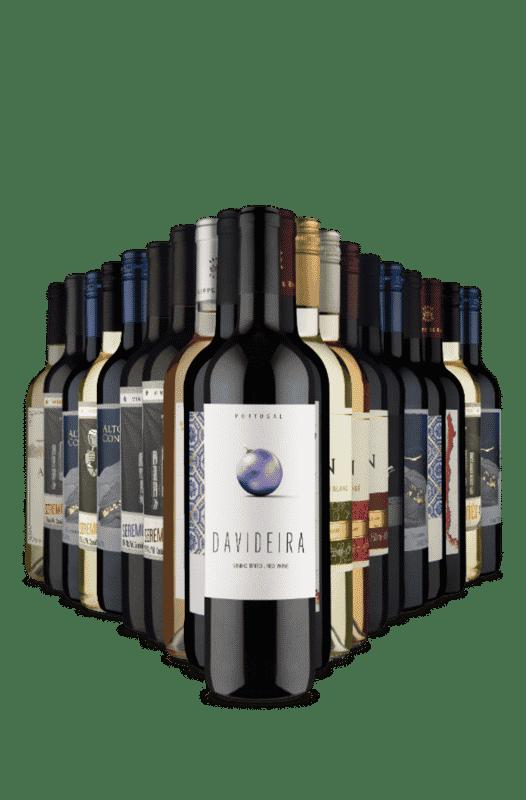 Kit Seleção Adega Cheia Vinho Facil (20 Vinhos)