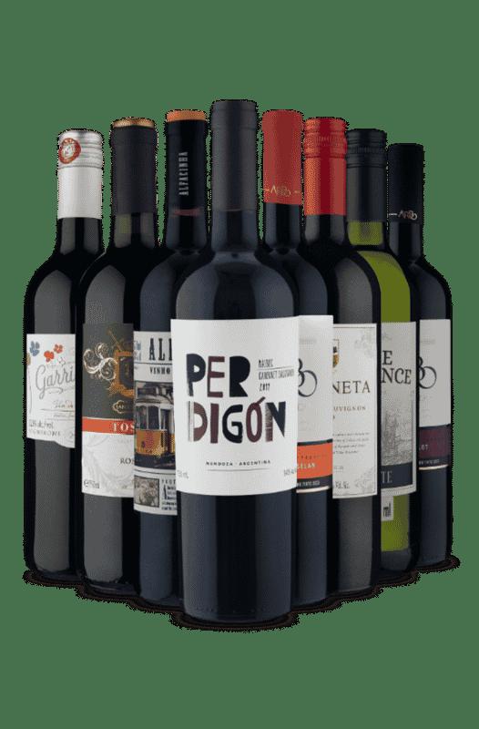Kit Vinhos De Sucesso (8 Vinhos)