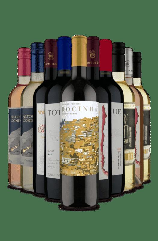 Kit Um Toque Português na América do Sul (10 Vinhos)