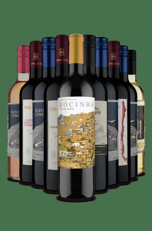 Kit Meu Primeiro Vinho na VF (10 VInhos)