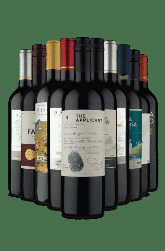 Kit Vinhos Meio Seco Incríveis (10 Vinhos)