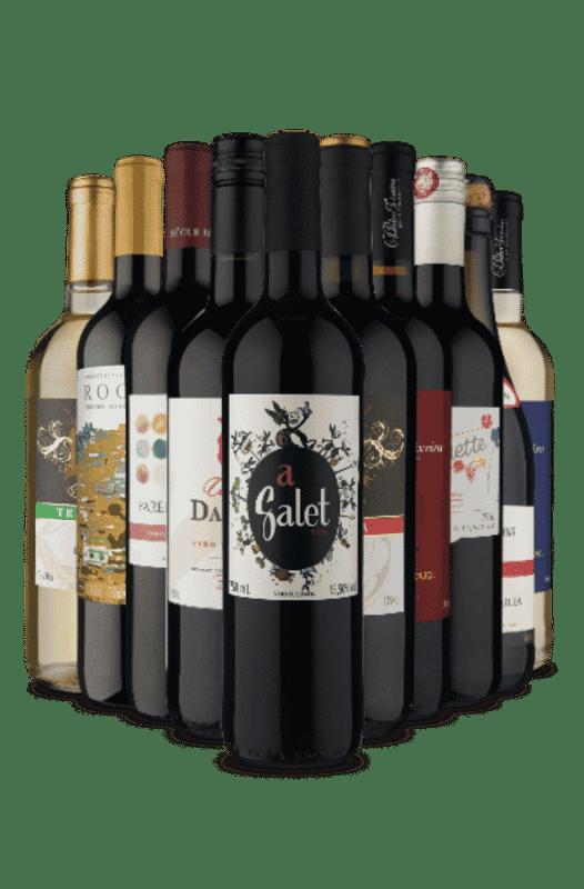 Kit Misturas Europeias (10 Vinhos)