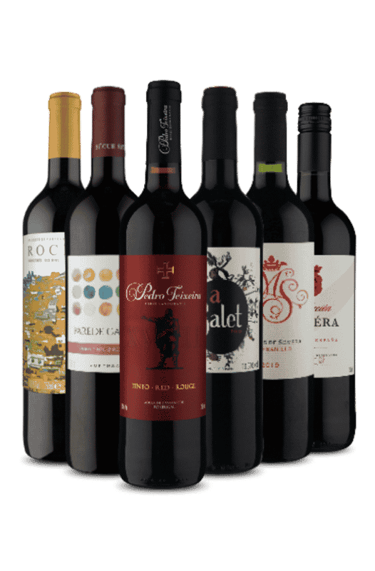 Kit Espanha e Portugal Tintos (6 Vinhos)