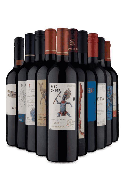 Kit 5 Secos 5 Meio Secos (10 Vinhos)