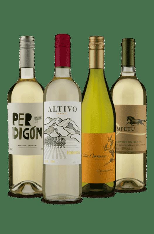 Kit Brancos Argentina e Chile (4 Vinhos)