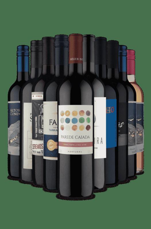 Kit Especial Tintos Blends e Varietais (10 Vinhos)