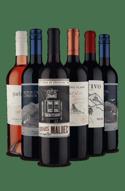 Kit Sexteto Malbec (6 Vinhos)