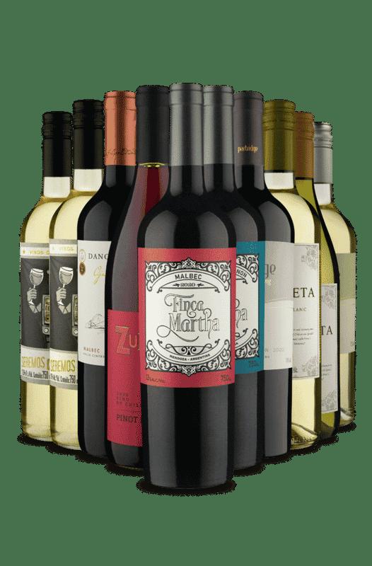 Kit 2 de cada Família (10 Vinhos)
