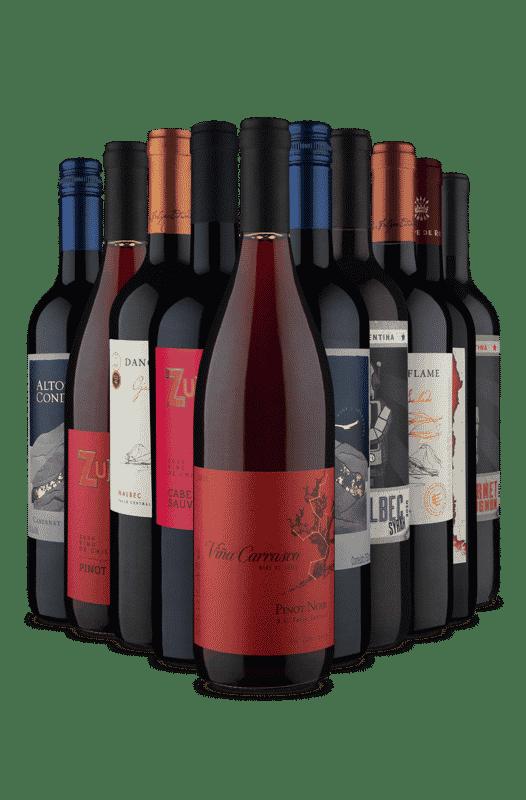 Kit Perfeito para um Dia de Inverno (10 Vinhos)