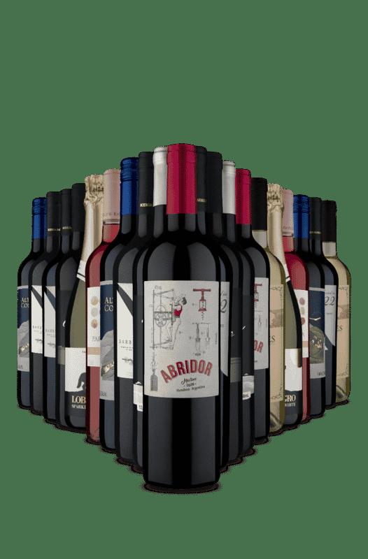 Kit 20 Loucura no Preço  (20 Vinhos)