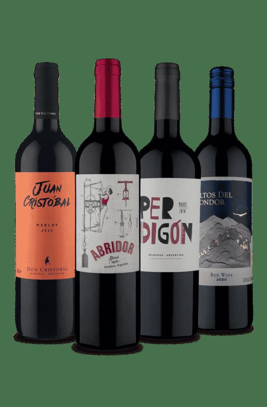 Kit 4 Tintos Qualidade Hermana (4 Vinhos)