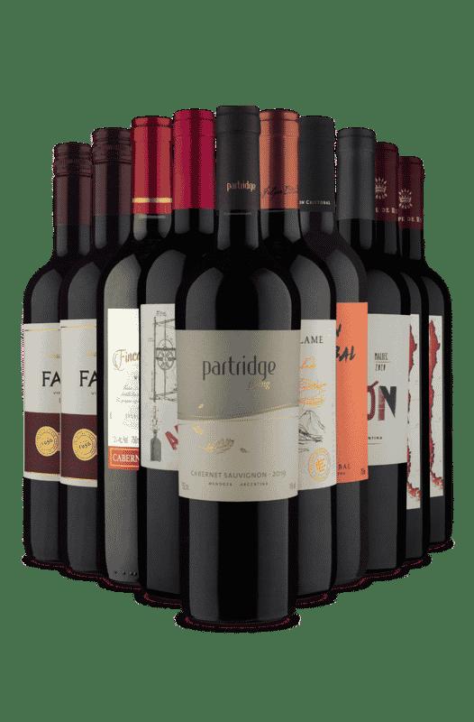 Kit 10 Tintos Muitos Vinhos Premium (10 Vinhos)