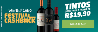 Vinhos Tintos (1 Ano WineUP)