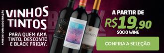 Vinhos Tintos Black Friday (WineBox)