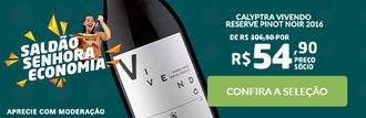 Calyptra Vivendo Reserve Pinot Noir 2016 (Senhora Economia)