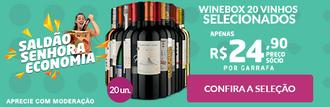 Winebox 20 Vinhos Selecionados (Senhora Economia)