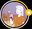 Ilustração do avatar de Estreante
