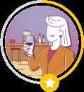 Ilustração do avatar de Entusiasta