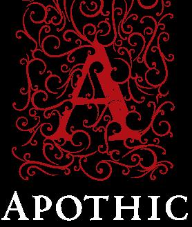 Logomarca da linha Apothic
