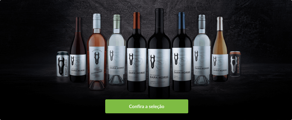 Seleção de vinhos Dark Horse