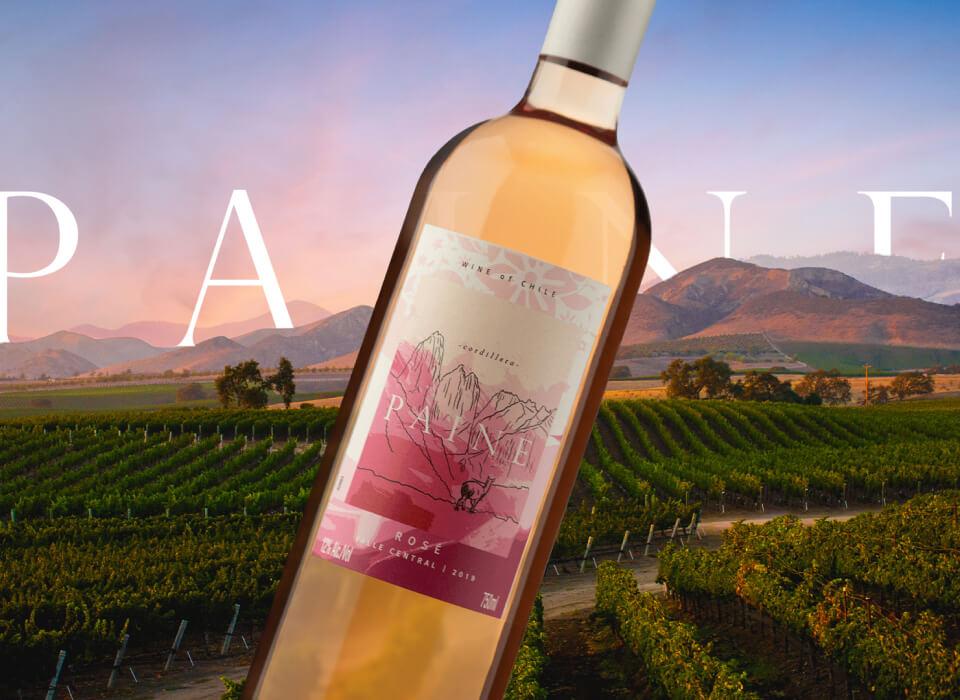 Foto da entrada da vinícola